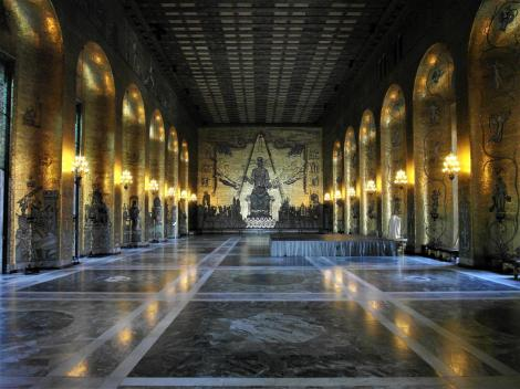 Stockholm: Stadthaus - Goldener Saal (2019)