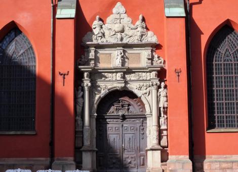 Stockholm: Jakobskirche - Südportal (2019)