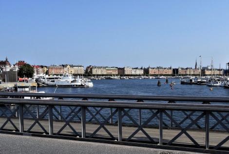 Stockholm: Blick von der Skeppsholmsbrücke nach Östermalm (2019)