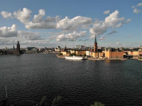 Stockholm: Blick von Södermalm (2019)