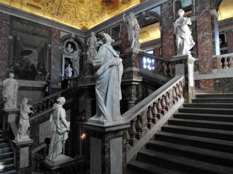 Schloss Drottningholm: Treppenhaus (2019)