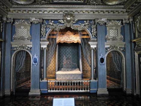 Schloss Drottningholm: Paradeschlafzimmer Hedwig Eleonoras (2019)