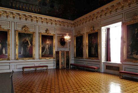 Schloss Drottningholm: Reichssaal (2019)