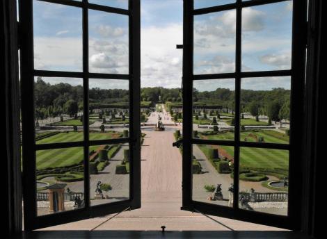 Schloss Drottningholm: Blick in den Schlosspark (2019)