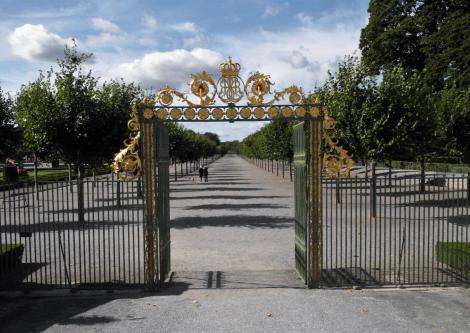 Schloss Drottningholm: Tor zum Schlosspark (2019)