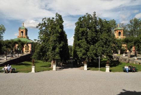 Schloss Drottningholm: Pavillons beim Chinesischen Schlösschen (2019)