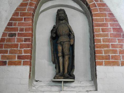 Strängnäs Dom - Skulptur des Hl. Erik [von Bernt Notke] (2019)