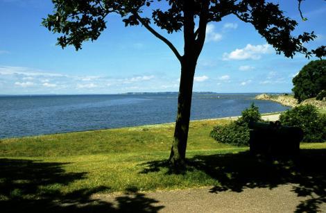 Landskrona: Blick zur Insel Ven [Nähe Zitadelle] (2001)