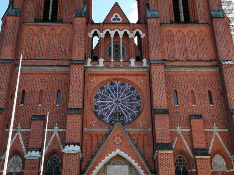 Uppsala: Dom - Westfassade (2019)
