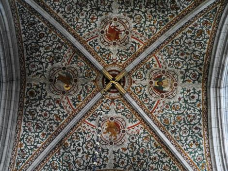 Uppsala: Dom - Vierung = Krönungsgewölbe (2019)