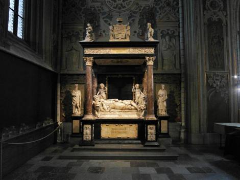 Uppsala: Dom - Grabmal Johanns III. in der Jagiellonischen Grabkapelle (2019)