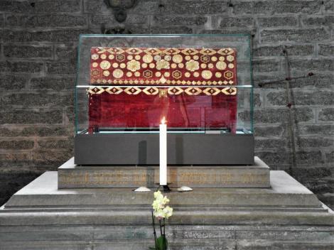 Vadstena: Klosterkirche - Reliquienschrein der Birgitta (2019)