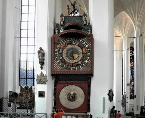 Marienkirche: Astronomische Uhr (2012)