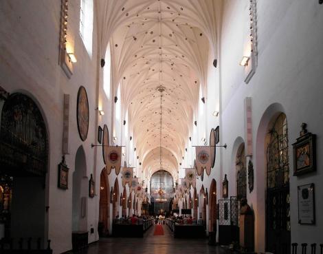 Oliva: Kirche des Zisterzienserklosters (2012)