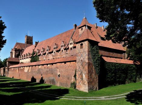 Marienburg [poln. Malbork]: Mittelschloss mit Gästeflügel (2012)