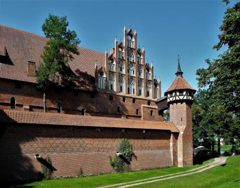 Marienburg [poln. Malbork]: Mittelschloss – Spital (2012)