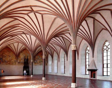Marienburg [poln. Malbork]: Mittelschloss – Großer Remter (2012)