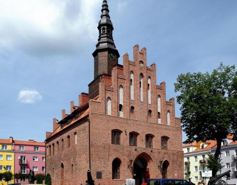 Mohrungen: Rathaus (2012)