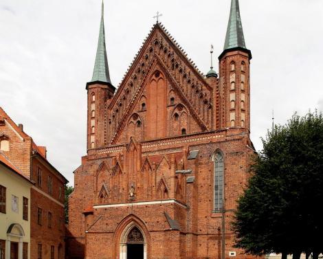 Frauenburg: [poln. Frombork]: Dom - Westfassade (2012)