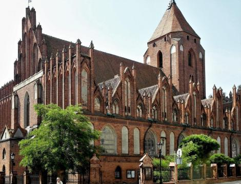 Wormditt [poln. Orneta]: Johanneskirche (2012)