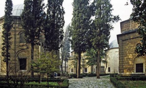 Bursa: Türben bei der Moschee Murads II. (1997)