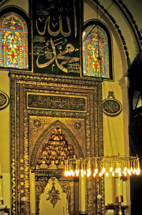 Bursa: Große Moschee - Mihrab (1997)