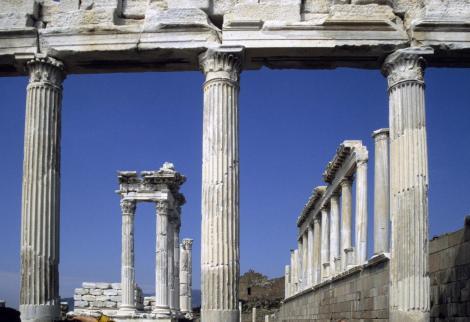 Pergamon: Trajan-Tempel (1997)
