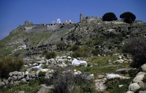 Pergamon: Trajan-Tempel - Theater - Zeus-Altar (1997)