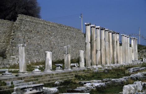 Pergamon: Asklepeion - Nordgaleria (1997)