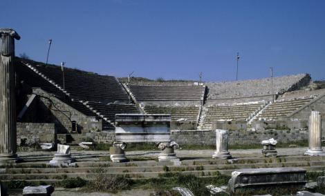 Pergamon: Asklepeion - Theater (1997)