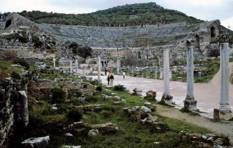 Ephesos: Hafenstraße und Theater (1997)
