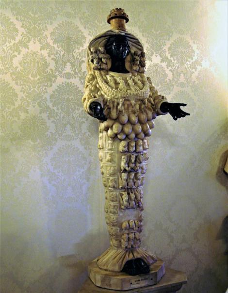 Rom: Kapitolinische Museen - römische Kopie der Artemis von Ephesos (2013)
