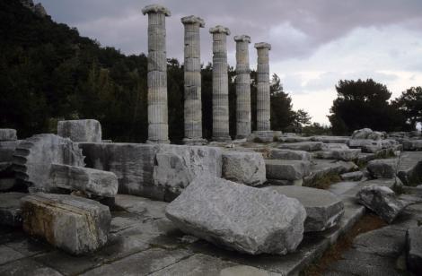 Priene: Athena-Tempel (1997)