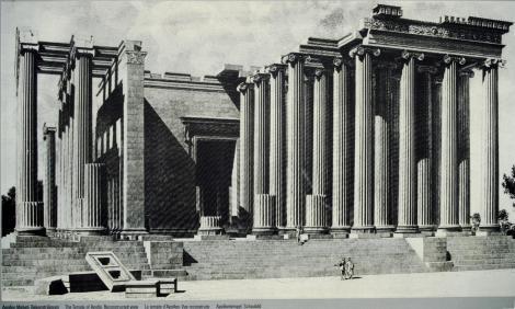 Didyma: Rekonstruktion des Apollontempels (1997)