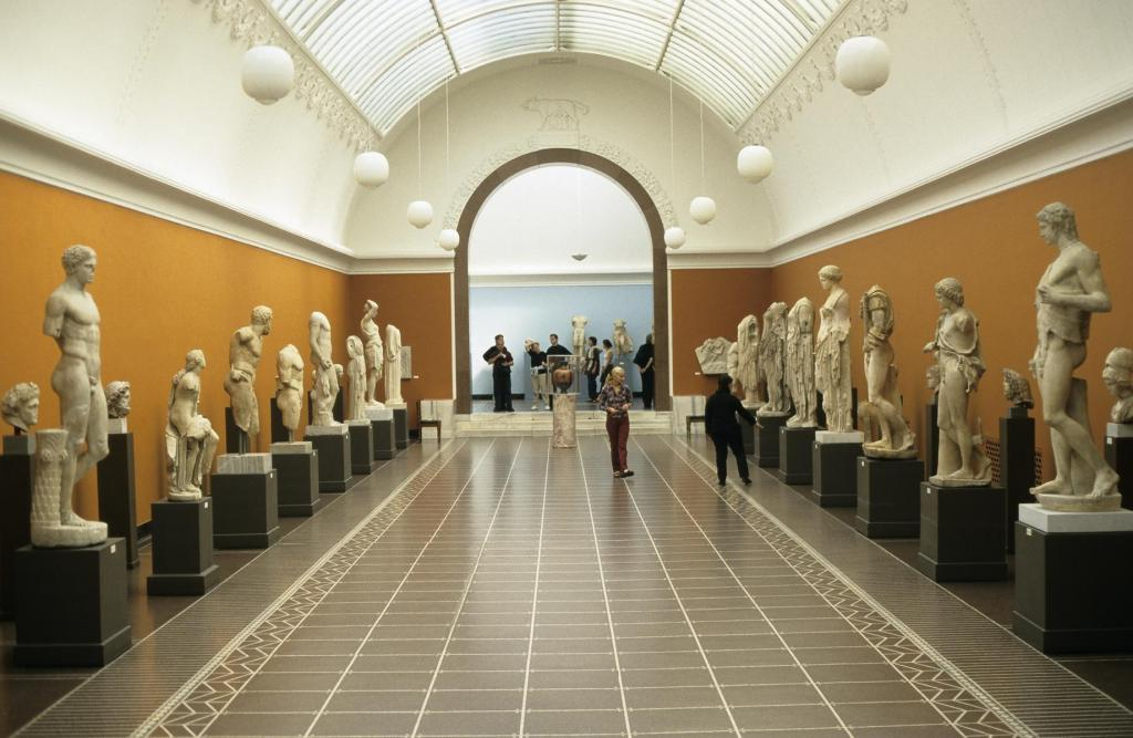 Kopenhagen: Ny Carlsberg Glyptotek - antike Skulpturen (2001)