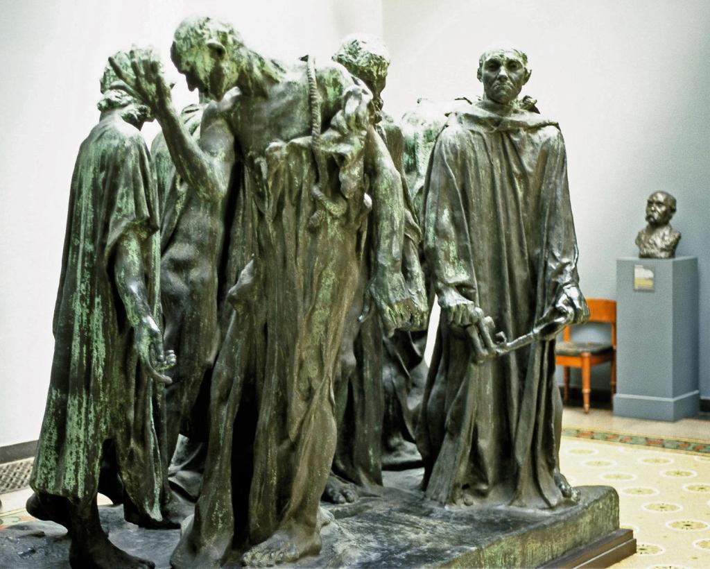 Kopenhagen: Ny Carlsberg Glyptotek - Rodin, Die Bürger von Calais (2001)