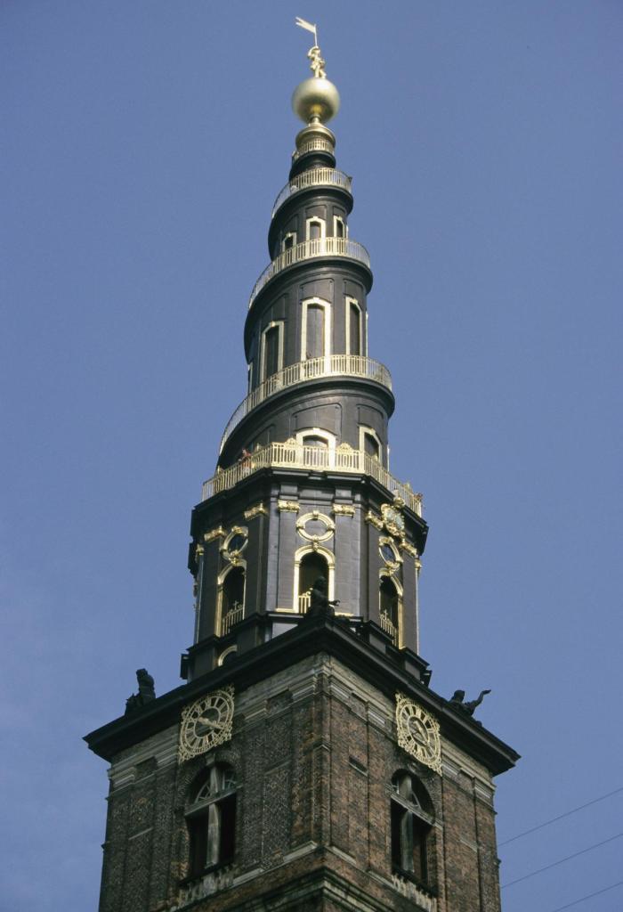 Kopenhagen: Turm der Erlöserkirche (2001)
