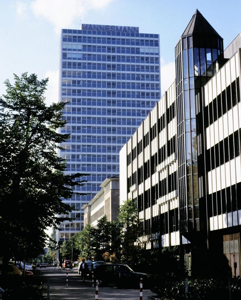 Düsseldorf: Mannesmann-Hochhaus (1980er Jahre)