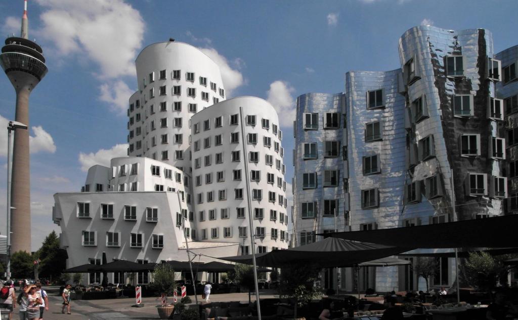 Düsseldorf: Medienhafen - Neuer Zollhof (2018)