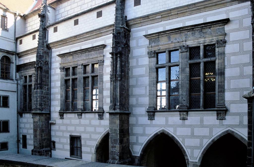 Prag: Königspalast - Palasthof (2004)