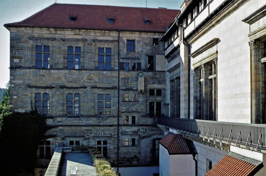 Prag: Königspalast - Ludwigstrakt mit Böhmischer Kanzlei (2004)