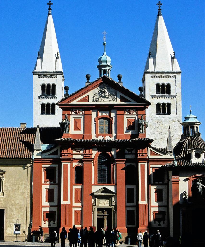 Prag: Prager Burg - Georgskirche (2004)