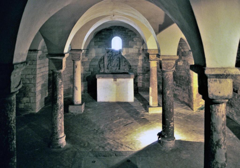 Prag: Prager Burg - Krypta der Georgskirche (2004)