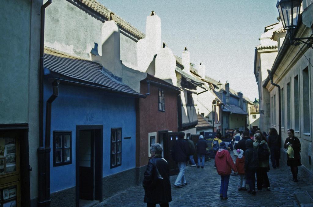 Prag: Prager Burg - Goldenes Gässchen (2004)