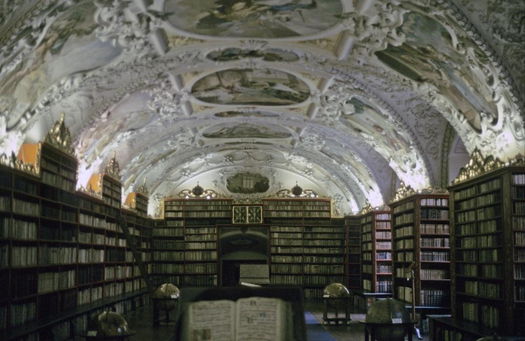 Prag: Kloster Strahov - Bibliothek, Theologischer Saal (2004)