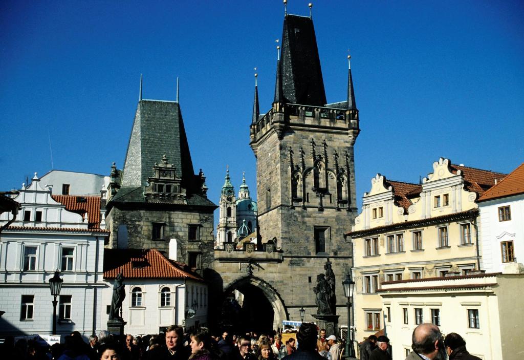 Prag: Kleinseitner Brückenturm (2004)