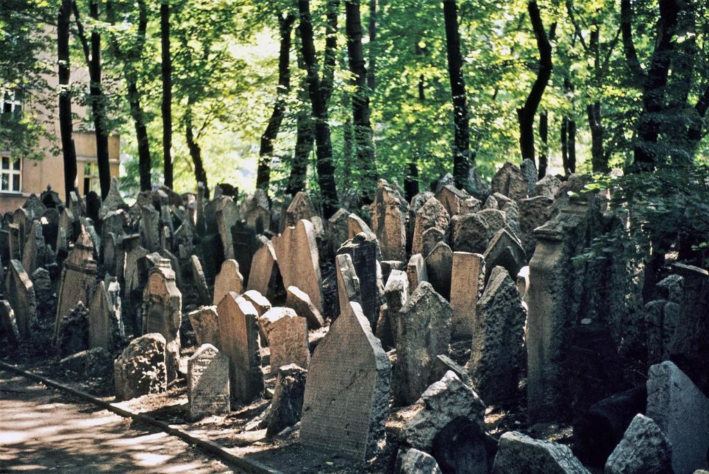 Prag: Jüdischer Friedhof (1982)