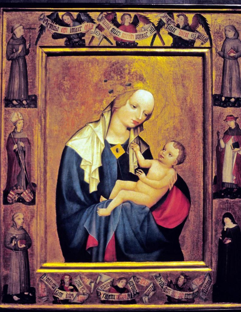Prag: Nationalgalerie im Agneskloster - Madonna von Krumau (2004)