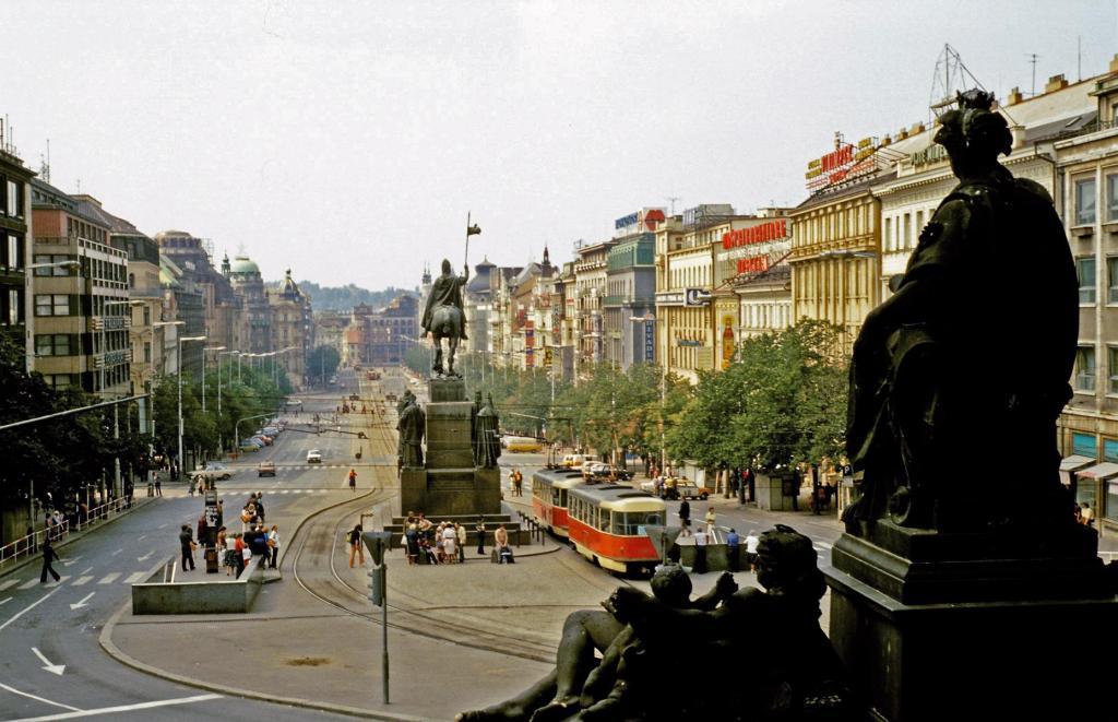 Prag: Wenzelsplatz (1982)