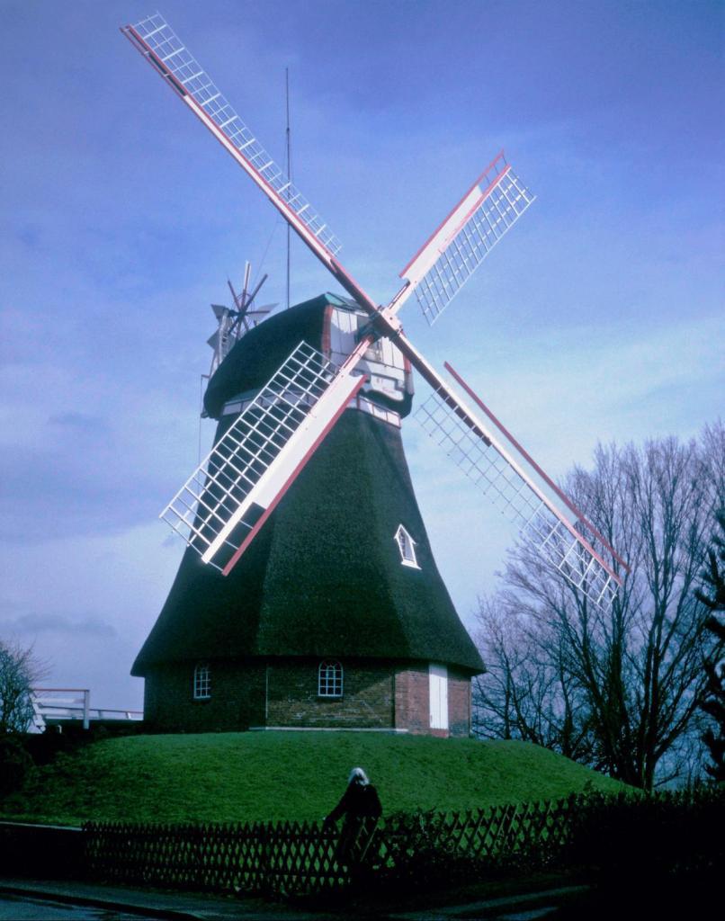 Bad Bederkesa: Windmühle (1990er Jahre)